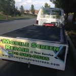 Mobile Screen Repair Trailer