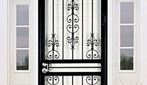 Security Screen Door Installation
