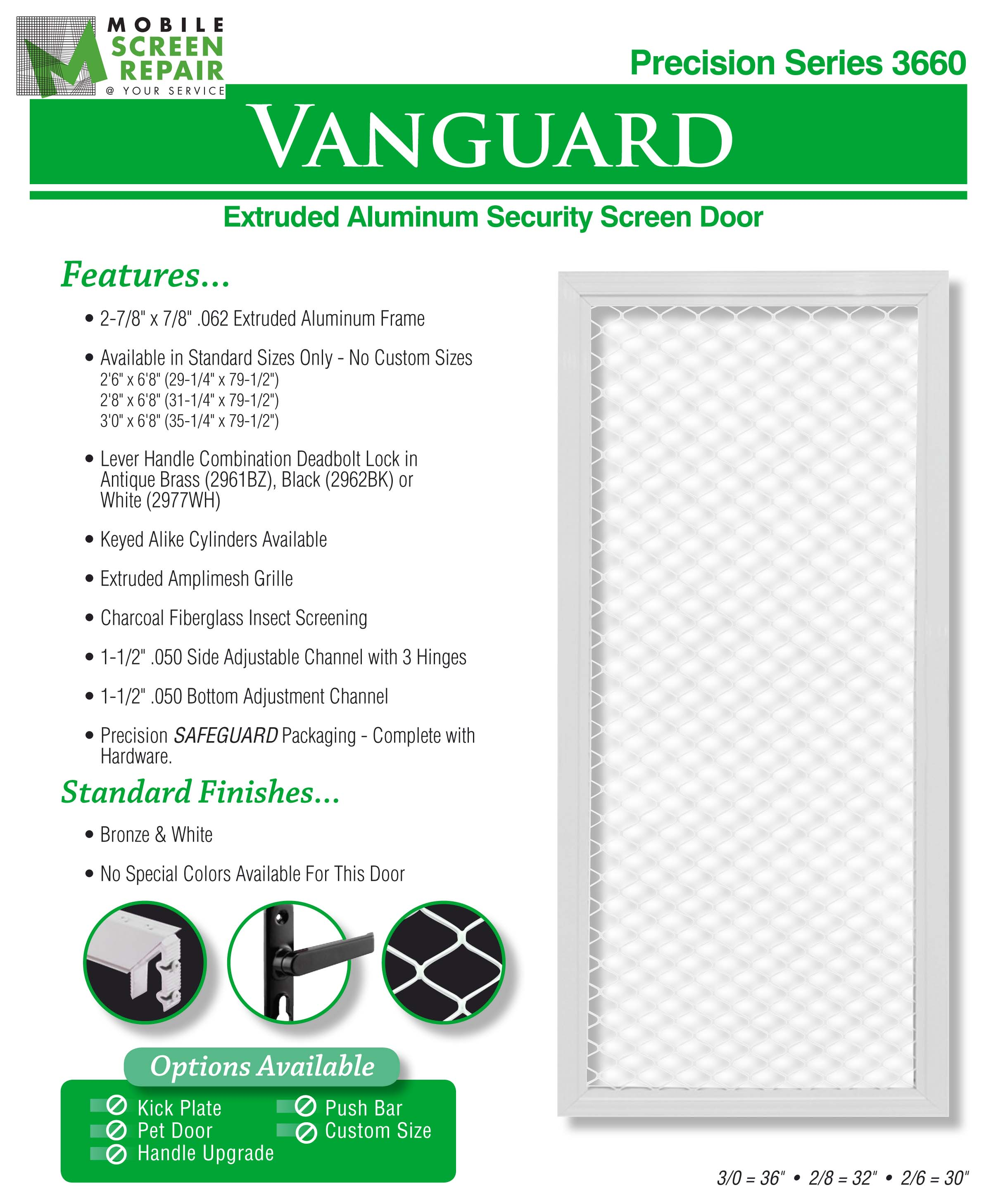 Aluminum Security Screen Door aluminum screen doors | mobile screen repair