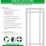 Aluminum Screen Doors Page 4