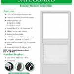Aluminum Screen Doors Page 6