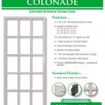 Aluminum Screen Doors Page 9