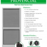 Aluminum Screen Doors Page 11