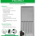 Aluminum Screen Doors Page 12