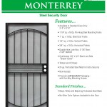 Economy Steel Security Door 1