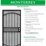 Economy Steel Security Door 1