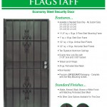 Economy Steel Security Door