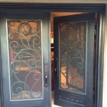 French door screens